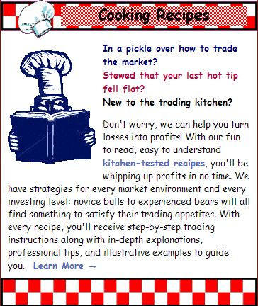 Stock Market Cook Book